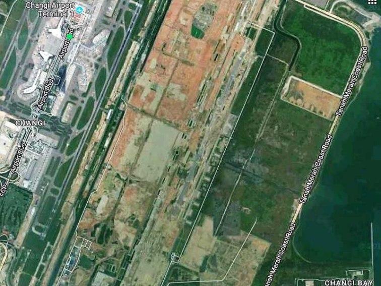 RAF Changi View 1